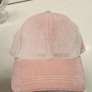 Pink Velvet baseball hat cap